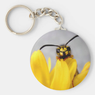 Funny Wasp key chain