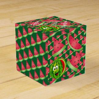 Funny Watermelon Kid's Birthday Favor Box