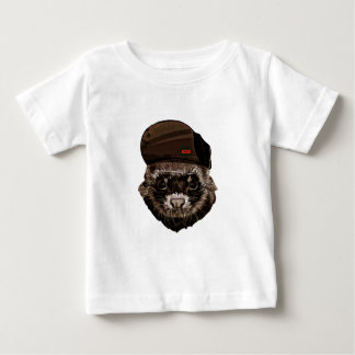 Funny Weasel with Hat Baby T-Shirt