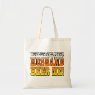 Funny Wedding Anniversary Worlds Greatest Husband Tote Bag