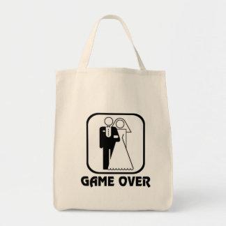 Funny wedding Game Over Bag
