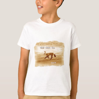 funny what does the fox say T-Shirt
