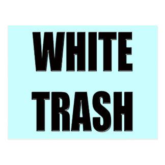 Funny White Trash T-shirts Gifts Postcard