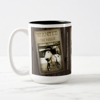 Funny Wild West Bull Terrier Coffee Mug
