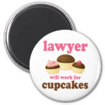 Funny Will Work for Cupcakes Lawyer