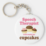 Funny Will Work for Cupcakes Speech Therapist