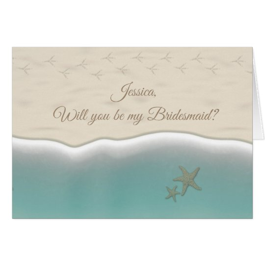 "Funny ""Will you be my Bridesmaid"" Card"