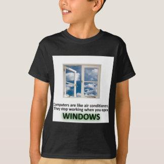 Funny Windows Joke - GeekShirts T-Shirt