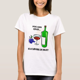 Funny wine humor saying T-Shirt