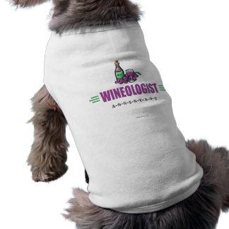 Funny Wine Pet T-shirt