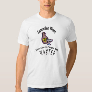 Funny Wine T Shirt - Expensive Wine