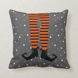 Funny Witch Legs Pillow