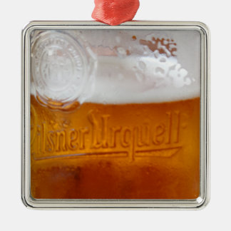 Funny with BEER Metal Ornament