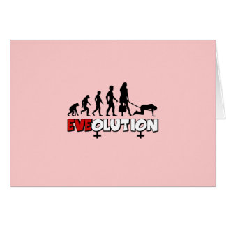 Funny women's card