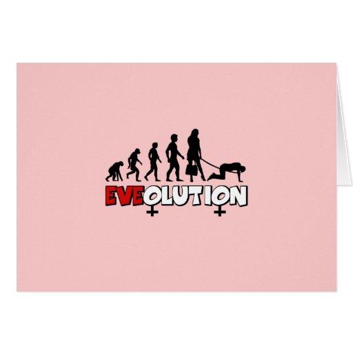 Funny women's card