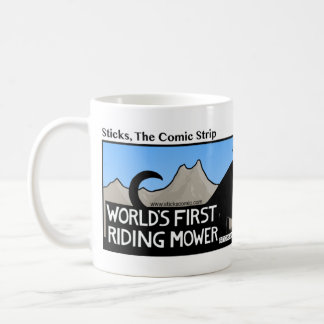 Funny World's 1st Riding Mower Stickman Mug - 077