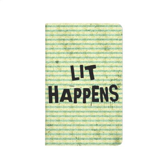 Funny Writer Reader Lit Happens Journal