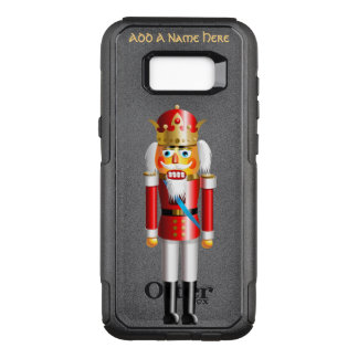 Funny Xmas Nutcracker King OtterBox Commuter Samsung Galaxy S8+ Case