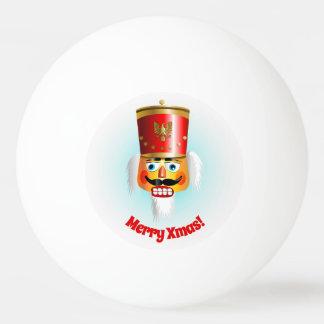 Funny Xmas Nutcracker Ping Pong Ball