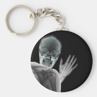 Funny Xray Photobomb Keychain