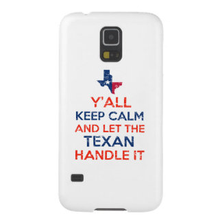 Funny Y'all Texan tees Case For Galaxy S5