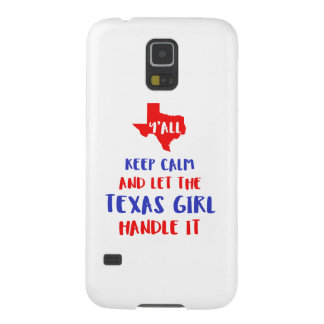 Funny Y'all Texas Girl Tees Cases For Galaxy S5