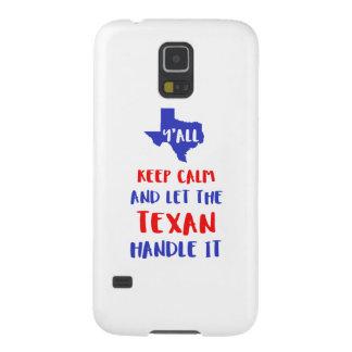 Funny Y'all Texas Girl Tees Galaxy S5 Case