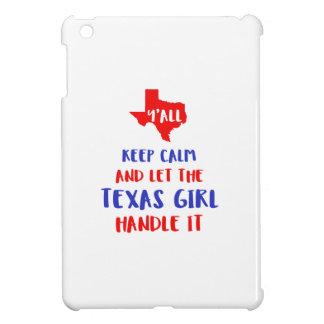 Funny Y'all Texas Girl Tees iPad Mini Cases