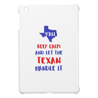 Funny Y'all Texas Girl Tees iPad Mini Cover