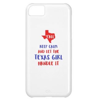 Funny Y'all Texas Girl Tees iPhone 5C Cover