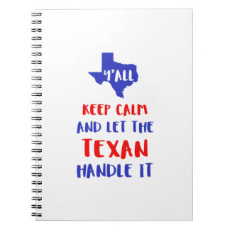 Funny Y'all Texas Girl Tees Notebook