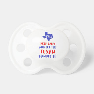 Funny Y'all Texas Girl Tees Pacifier
