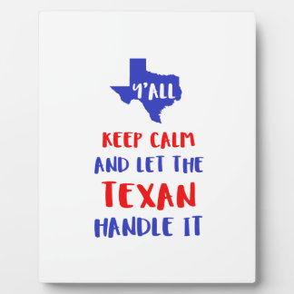 Funny Y'all Texas Girl Tees Plaque