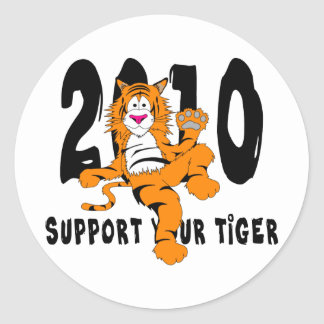 Funny Year of The Tiger 2010 Gift Sticker