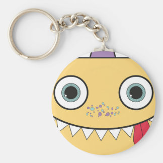 Funny Yellow Monster Keychain