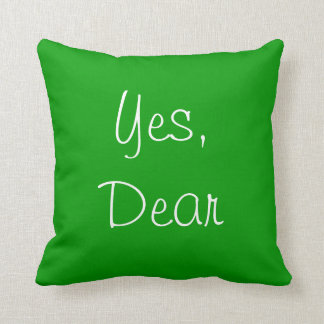Funny Yes, Dear - Not Tonight Pillow