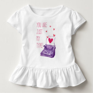 Funny You Are Just My Type Valentine | Ruffle Tee