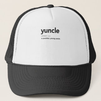 Funny Yuncle Definition Print Trucker Hat