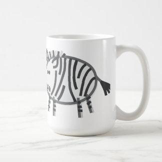Funny Zebra Coffee Mug