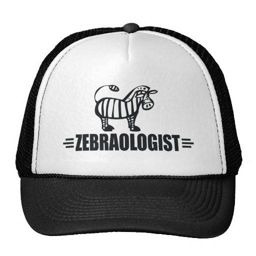 Funny Zebra Trucker Hats