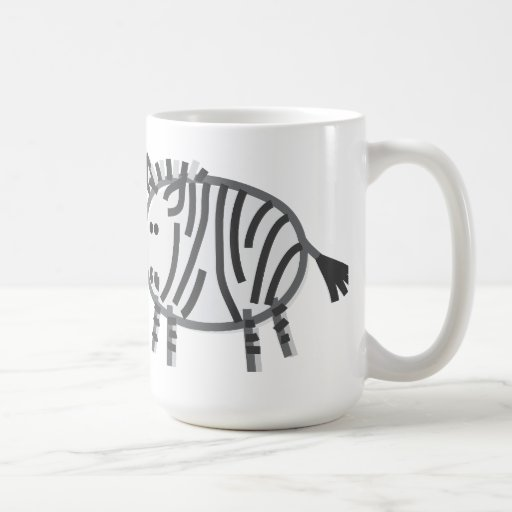 Funny Zebra Mugs