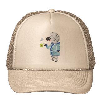 Funny zebra. trucker hat