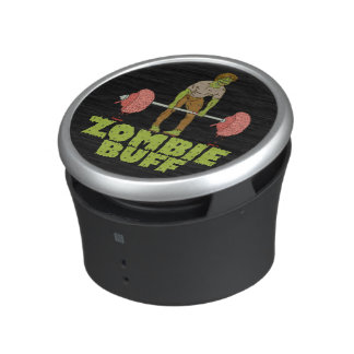Funny Zombie Buff Weight Lifter Bluetooth Speaker