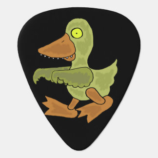 Funny Zombie Duck Guitar Pick