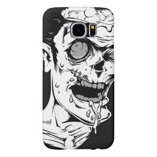 Funny Zombie Horror Face - Cool and Unique Samsung Galaxy S6 Cases