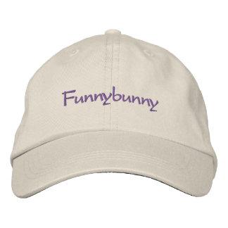 Funnybunny Embroidered Baseball Cap