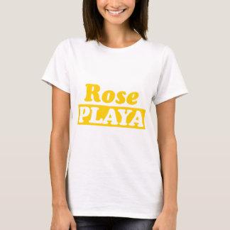 Funy Rose Playa Golden T-Shirt