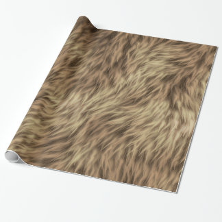 Fur 2A-2B Image Options Custom Wrapping Paper