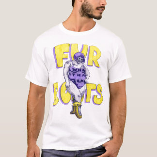 fur boots T-Shirt