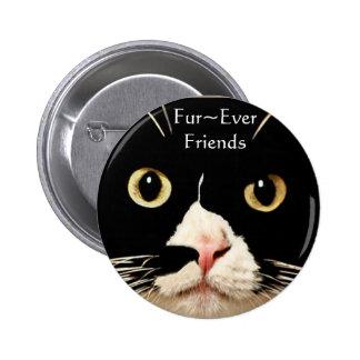 Fur~Ever Friends 2 Inch Round Button